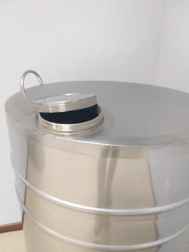 butoi inox 180 litri