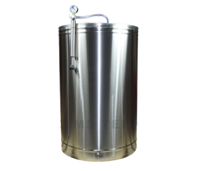 Cisterna din inox cu capac flotant de 315 L