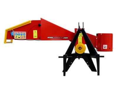 Tocator de crengi REMET R100-PTO - www.granulator.ro